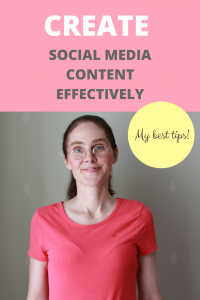 Create Social Media Content Effectively