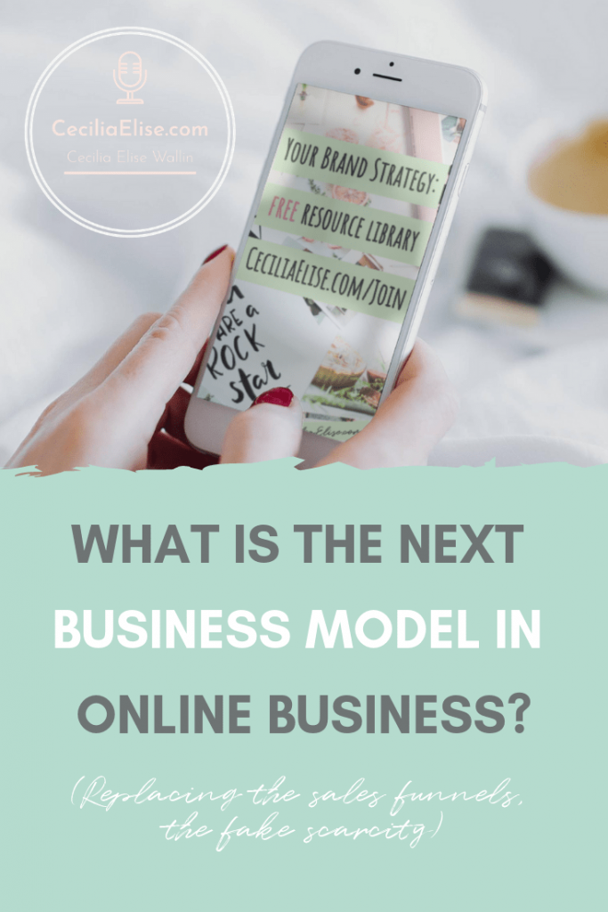 What is the next business model in online business in 2019?