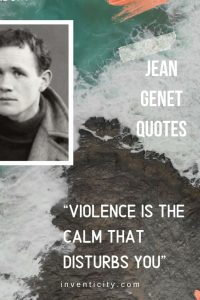 JEAN GENET QUOTES   DREAMING IS NURSED IN DARKNESS   RELAXING QUOTES AND MUSIC