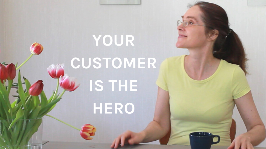 storytelling marketig your customer is the hero