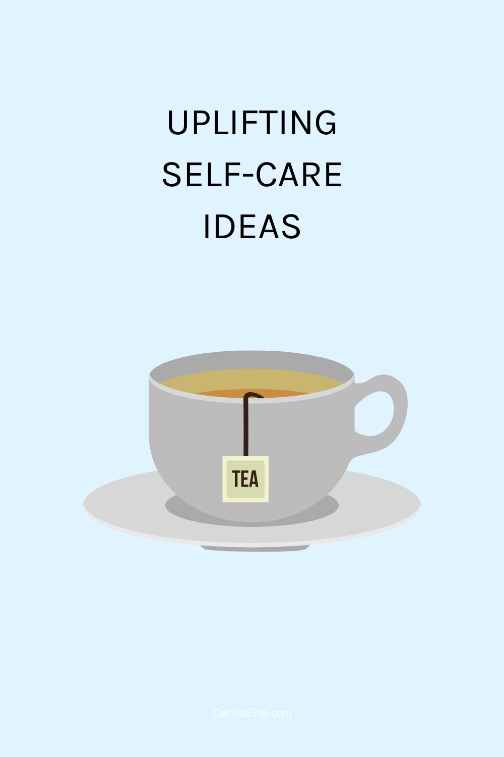 Uplifting self-care ideas
